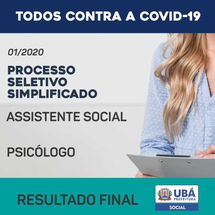 Processo Seletivo para Assistente Social e Psicólogo