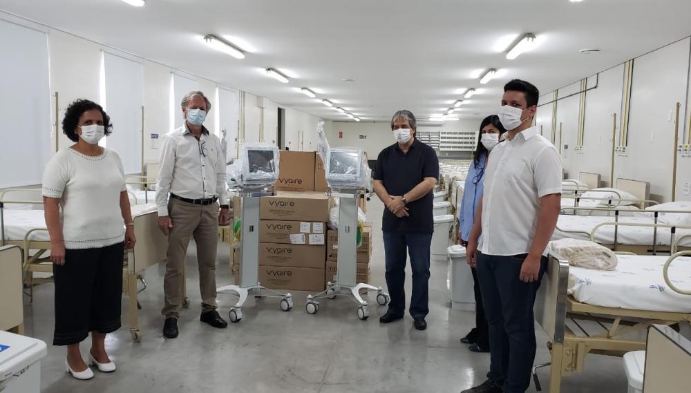 Prefeitura de Ubá realiza entrega de novos respiradores ao Hospital Santa Isabel