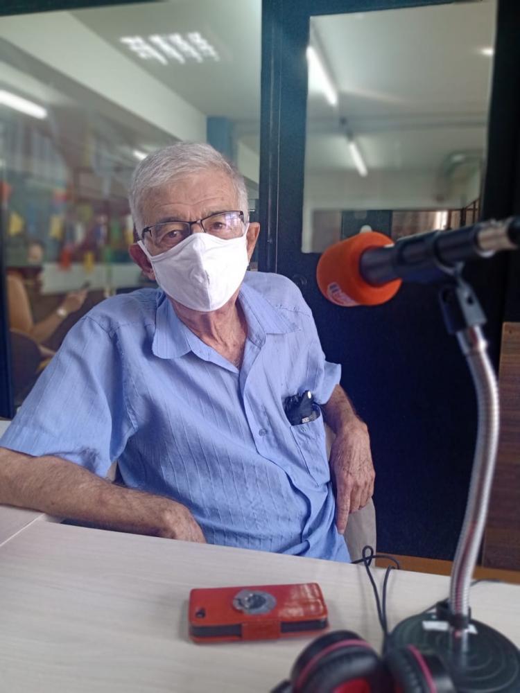 Aimar dos Santos Ribeiro confirma que aceitou pré-candidatura como vice de Dr. Itamar