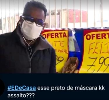 Repórter da Globo comenta caso de racismo sofrido: 'Não somos otários'
