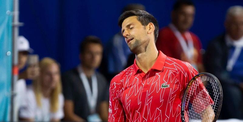 Novak Djokovic testa positivo para o novo coronavírus