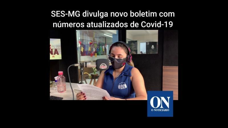 SES divulga novo boletim com números atualizados da Covid-19