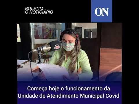Começa o funcionamento na Unidade de Atendimento Municipal Covid