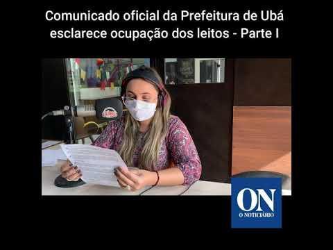 Comunicado oficial da Prefeitura esclarece ocupação dos leitos I - Boletim O Noticiário 07/07/2020